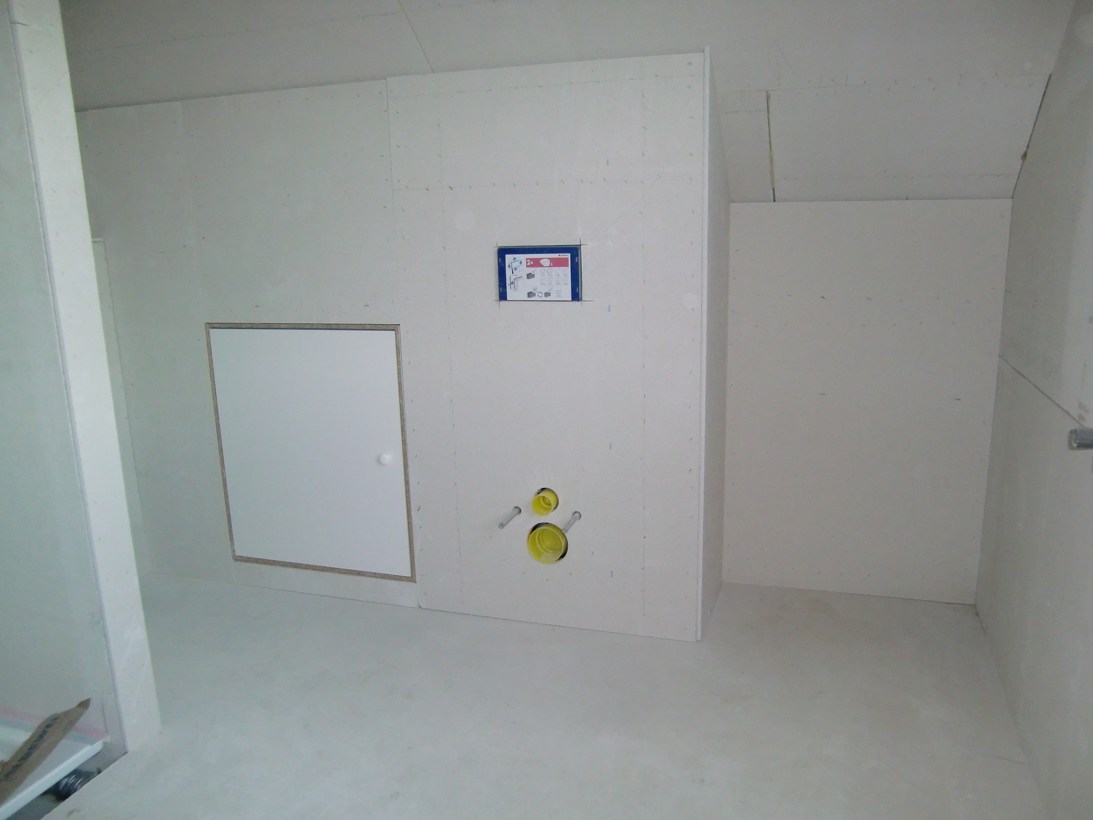 Vorbauwände Badezimmer
