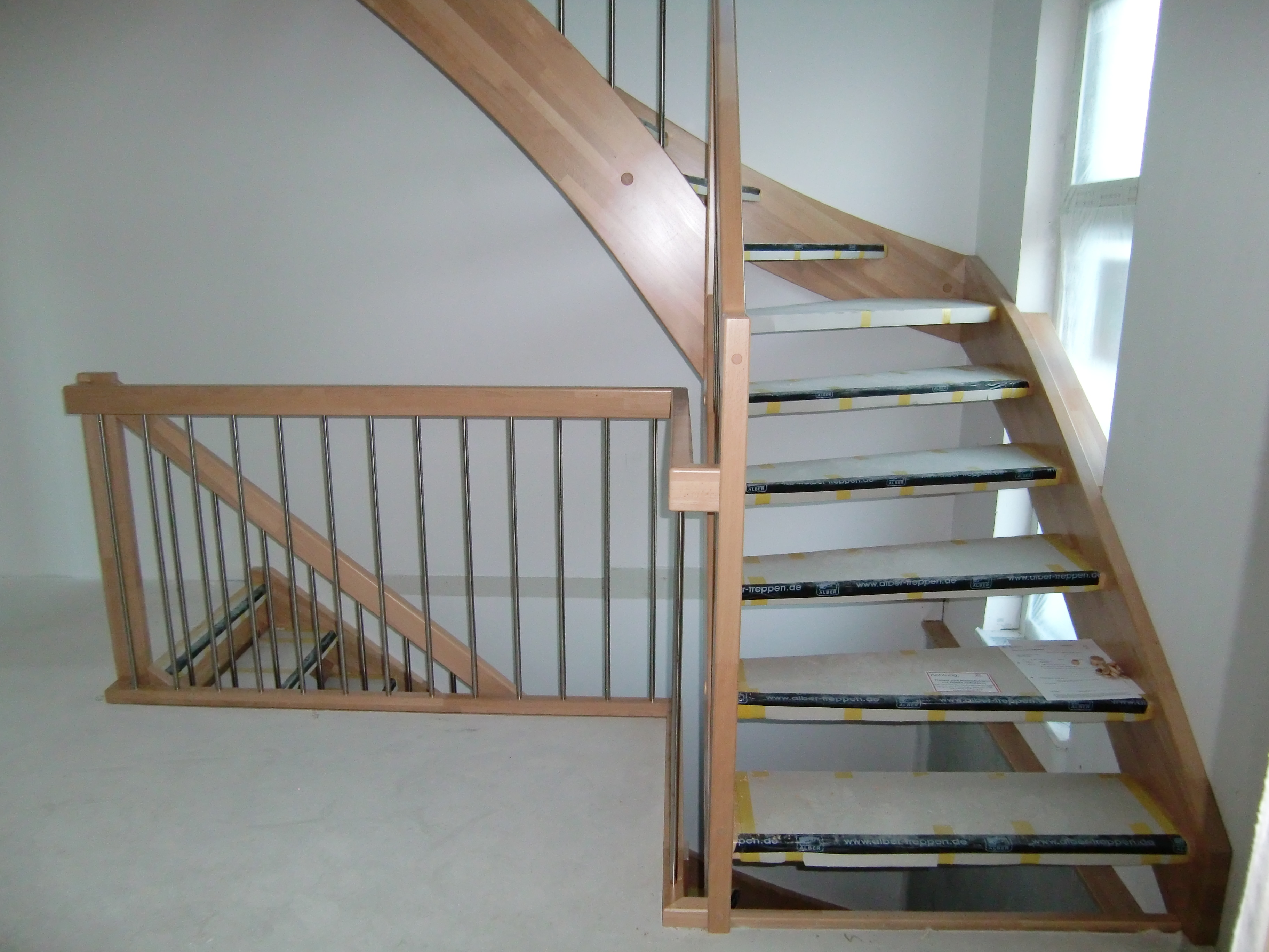 Unsere Treppe