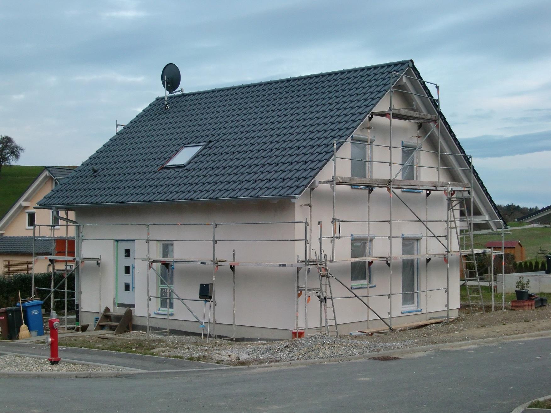 Haus von Nord-Westen
