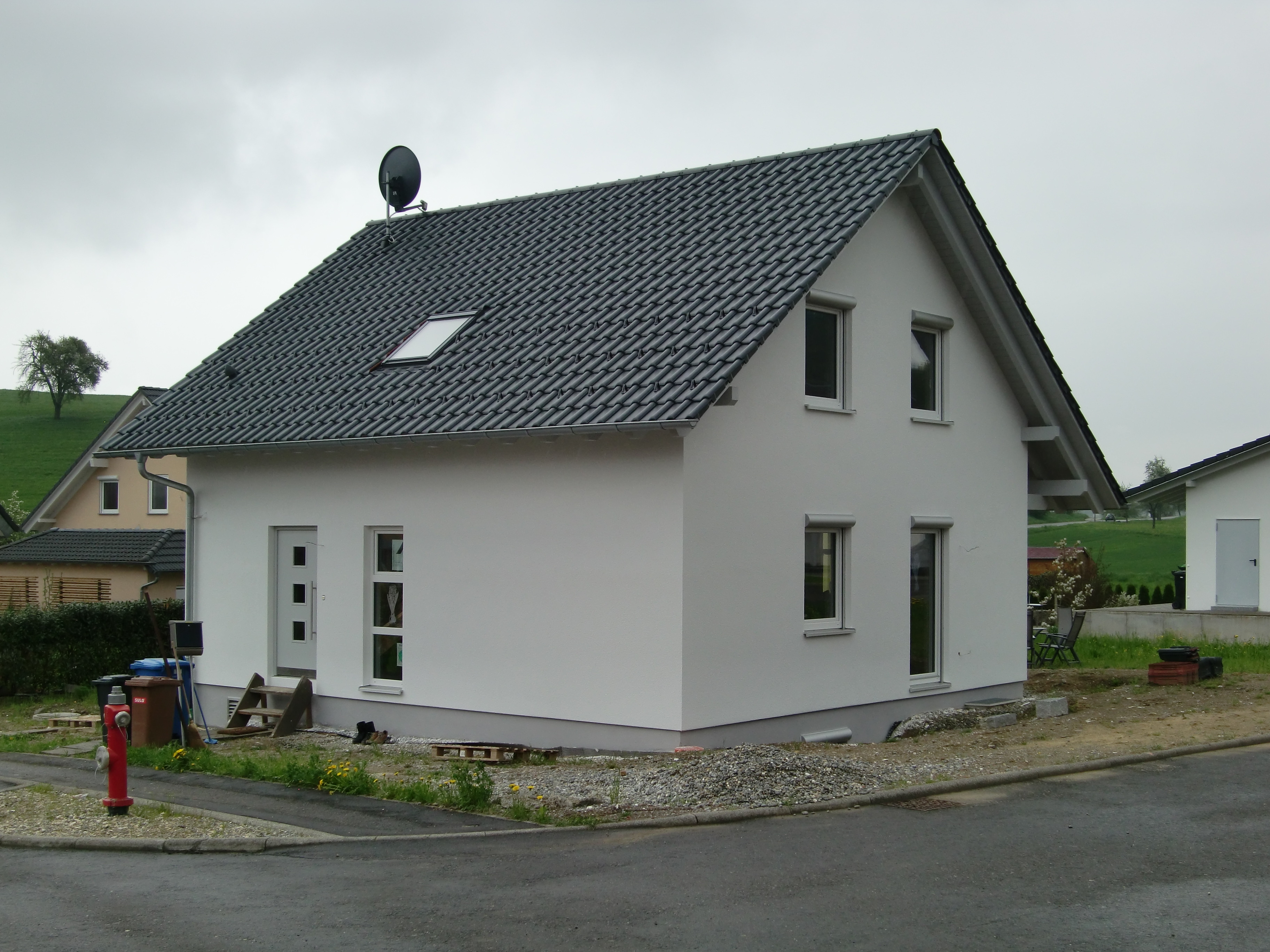 Haus von Süd-Westen